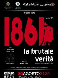 Locandina 1861 La Brutale verità