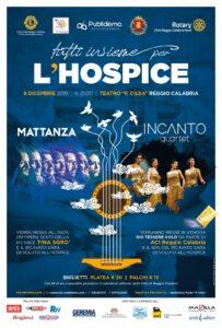 Locandina Concerto beneficienza Hospice
